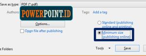 Mengubah file pdf ke ppt templates
