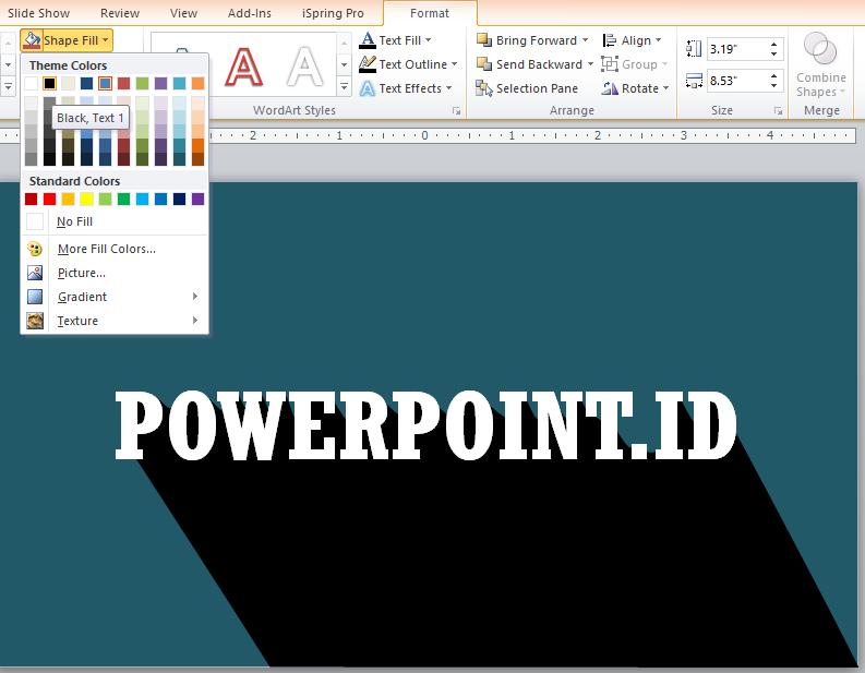 Membuat Flat Shadow dengan PowerPoint_6