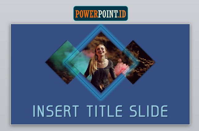 Membuat Slide Judul Menarik dengan Belah Ketupat_10