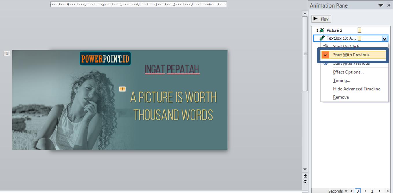 animasi powerpoint keren